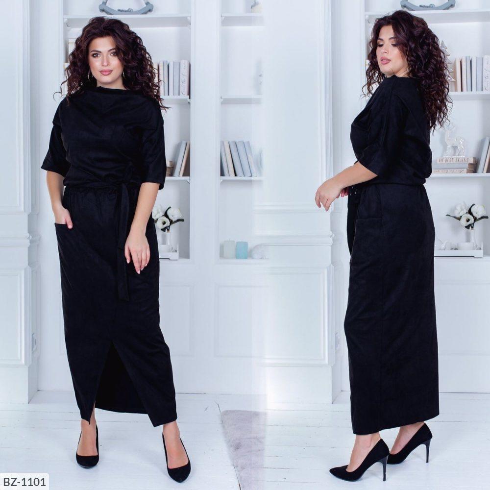 Стильне плаття (розміри 48-54) 0216-59