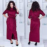 Стильне плаття (розміри 48-54) 0216-59, фото 4