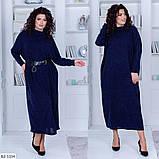 Стильне плаття (розміри 48-54) 0216-59, фото 3