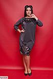 Стильное платье     (размеры 50-62) 0216-61, фото 2