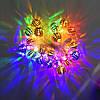 Гирлянда Золотая Сфера, 20 led, размер фигурки: 2.5x2.5, мульти, прозрачный провод, 2,1м., фото 3