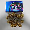 Гирлянда Золотая Сфера, 20 led, размер фигурки: 2.5x2.5, мульти, прозрачный провод, 2,1м., фото 5