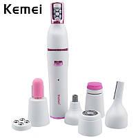 Эпилятор-триммер Kemei Km-2189 7в1