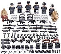 """Swat """"Черный Ястреб""""  Конструктор военный BrickArms"""