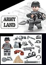 """Swat """"Черный Ястреб""""  Конструктор военный BrickArms, фото 3"""