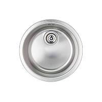Стальная кухонная мойка, круглая Apell Ferrara FE435UBC мойка 435 встраиваемая под столешницу с сифоном  (35754)