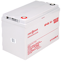 Аккумулятор гелевый LogicPower LP-GL 12 - 100 AH SILVER