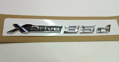 Шильдик надпись X drive 35d BMW