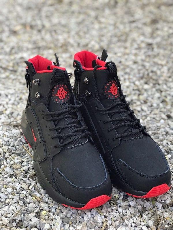 "Nike Huarache Winter Acronym""Black/Red"" (Топ качество) (Реплика)"