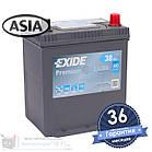 Аккумулятор автомобильный EXIDE Premium 6CT 38Ah ASIA, пусковой ток 300А [–|+] (EA386), фото 2
