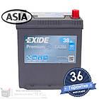Аккумулятор автомобильный EXIDE Premium 6CT 38Ah ASIA, пусковой ток 300А [–|+] (EA386), фото 3