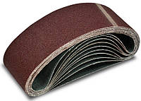 Лента абразивная для шлифмашин, 10шт. 75х533 мм, №120