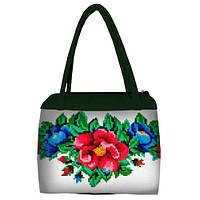 Женская сумка зеленая Мальва