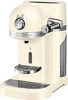 Кофемашина KitchenAid Artisan Nespresso 5KES0503EAC, капсульна, 1.4 л, кремова, фото 1
