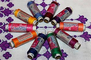 Цветные нитки для шитья