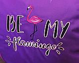 Пуф бескаркасный Кресло-груша пуф Фламинго, фото 5