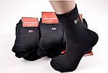 Махровые носки чёрные 36-41, фото 2