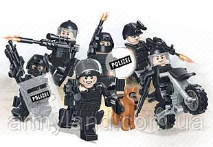 Военные фигурки, полиция, BrickArms, фото 2