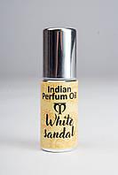 Натуральные масляные духи Белый сандал (White sandal) 5 мл Индия