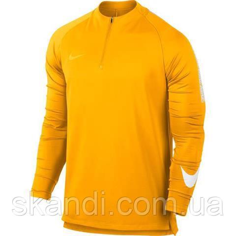 Толстовка мужская Nike M Dry Squad Drill Top желтая 859197 845