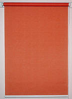 Рулонная штора 450*1500 Лён 2095 Терракот, фото 1