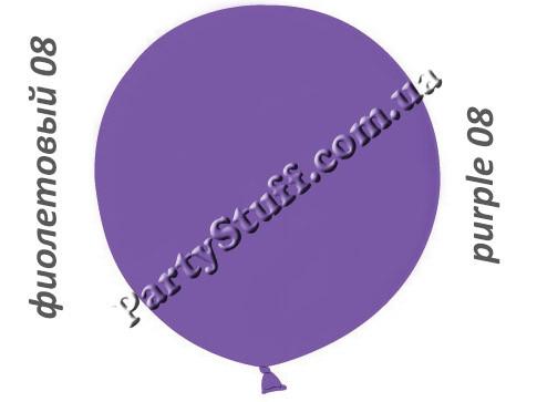 фиолетовый шарик сюрприз 31 дюйм