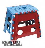 MasterTool  Стул складной пластиковый 215*285*320 мм средний, Арт.: 92-0195