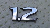 Шильдик значок опель корса д opel corsa d 1.2 оригинал бу, фото 1