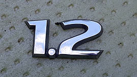 Шильдик значок опель корса д opel corsa d 1.2 оригинал бу