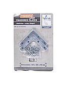 Набор металлических уголков POWERFIX 60х60х10мм