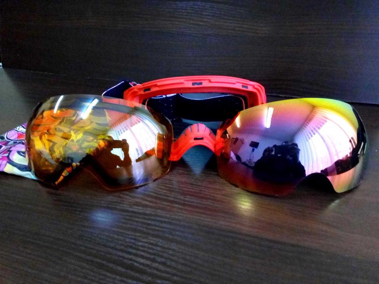 Гірськолижна маска (окуляри) North Wolf