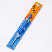 Крючок для вязания Pony 14 см,d-3,00 мм