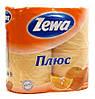 Туалетная бумага Zewa аромат 4шт