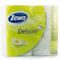 Туалетная бумага Zewa Deluxe 4шт