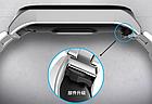 Ремешок Xiaomi Mi Band 4 / 3 Milanese Buckle миланская петля на застежке металлический Серебряный [2241], фото 9