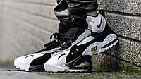 Мужские кроссовки Nike Sportswear Air Max Speed Turf (бело/черные) KS 1279