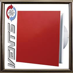 Вентилятор Вентс 100 Солид (красный)