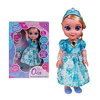 Интерактивная обучаемая кукла Оля с диктофоном 69020 (два вида)