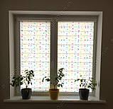 Рулонні штори День-Ніч Конфетті блакитний/зелений/жовтий/рожевий, фото 4