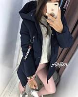Куртка женская стильная с капюшоном, фото 1