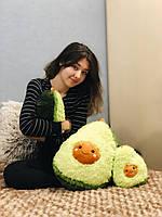 Мягкая плюшевая подушка Авокадо 25см