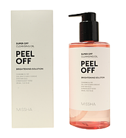 Missha Super Off Cleansing Oil - Peel off 305мл