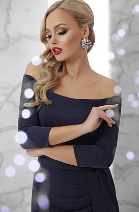 Красивое платье с открытыми плечами для корпоратива, фото 3