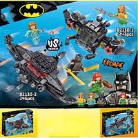 """Конструктор 82130 (Аналог Lego Super Heroes 76116) """"Подводный бой Бэтмена"""" 243 детали"""