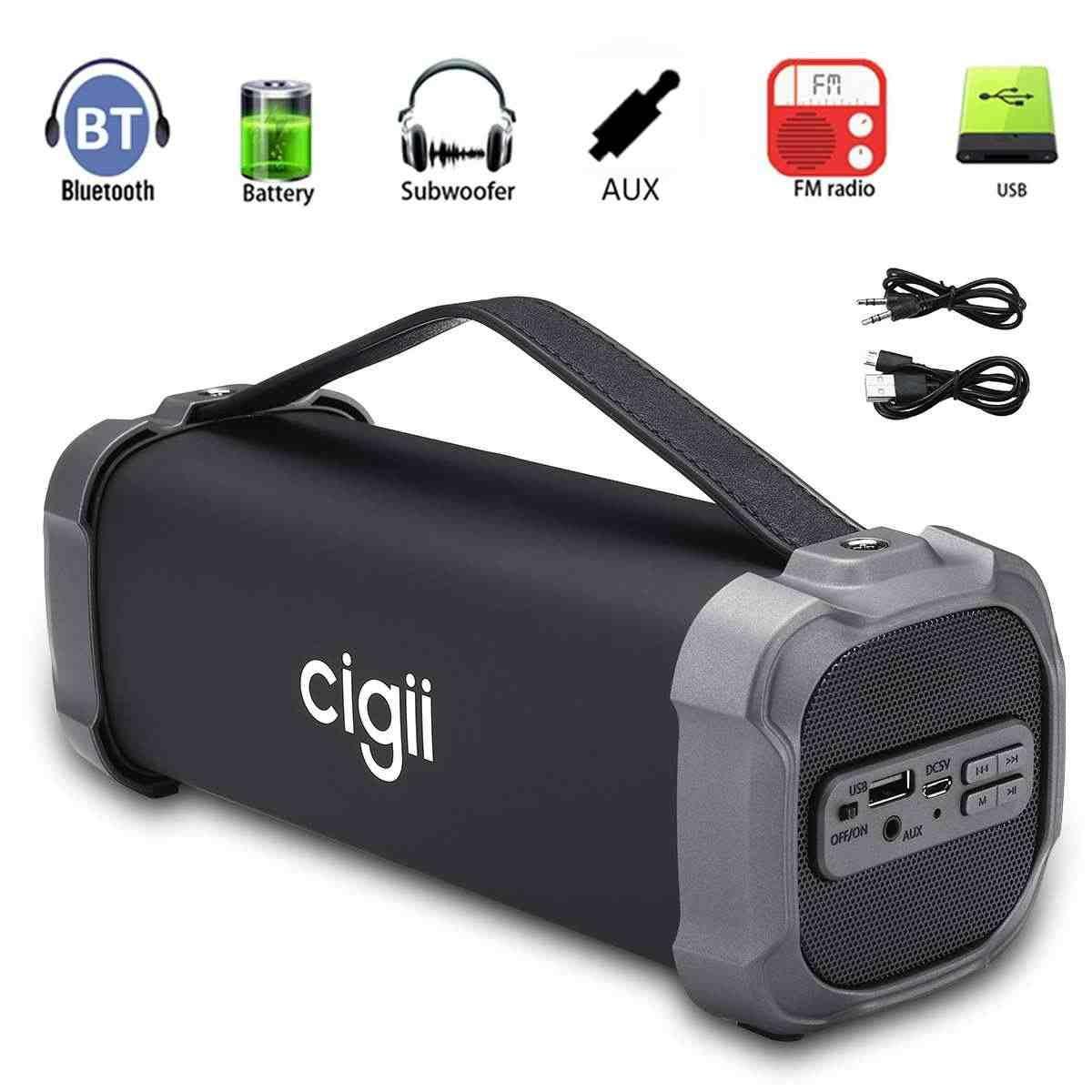 Портативная Bluetooth колонка Cigii F52, беспроводная колонка