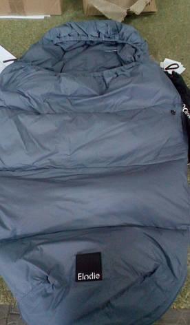 Зимний пуховый конверт Elodie Details цвет Tender Blue, фото 3