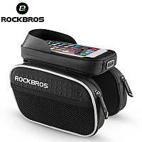 Велосумка для смартфона RockBros с боковыми карманами, фото 1