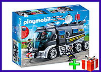 Игровой набор Конструктор Плеймобил Полиция: Тактическое подразделение: грузовик Playmobil 9360