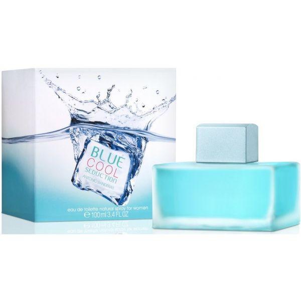 Antonio Banderas Blue Cool Seduction for Women туалетная вода 100 ml. (Блу Кул Седакшн Фо Вумен), фото 1