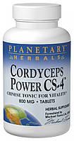 Кордицепс Power CS-4, Planetary Herbals, 800 мг, 60 таблеток